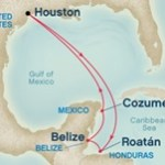 7 Day Caribbean Map