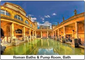 Comphoppers Irish British Tour Roman Baths
