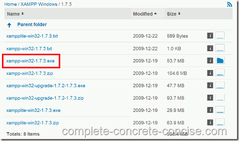 xampp-1.7.3-1-download