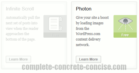 Wordpress Preliminary Impressions Of Photon In Jetpack Complete