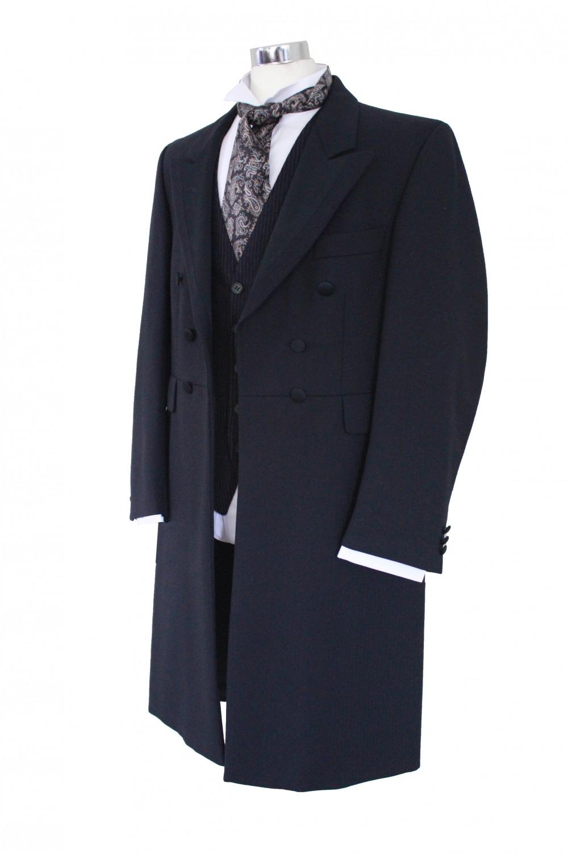 Men S Victorian Edwardian Frock Coat Costume Size M Complete Costumes Costume Hire
