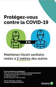 COVID-19 Construction Physical Distancing