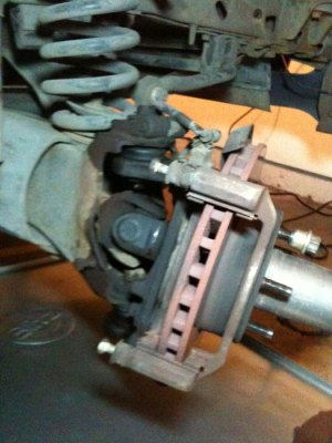 Ball Joints on 1996 4x4  Need Help Removing Axle  Ford
