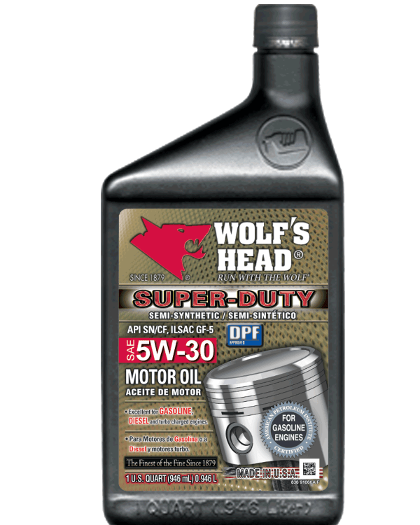Wolf's Head Super Duty 5W-30 Oil - Complete Auto Parts and ...