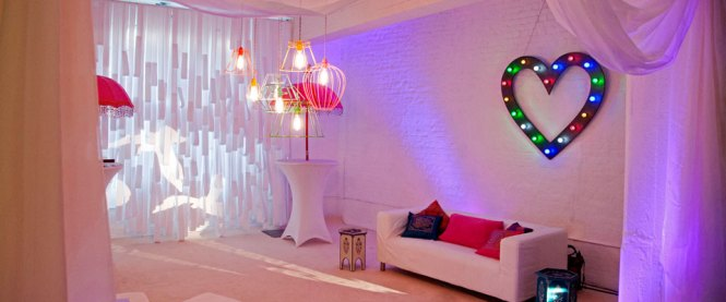 Unique Wedding D From The Complete Chillout Company Uk Modern Decorations Bird Light Projections