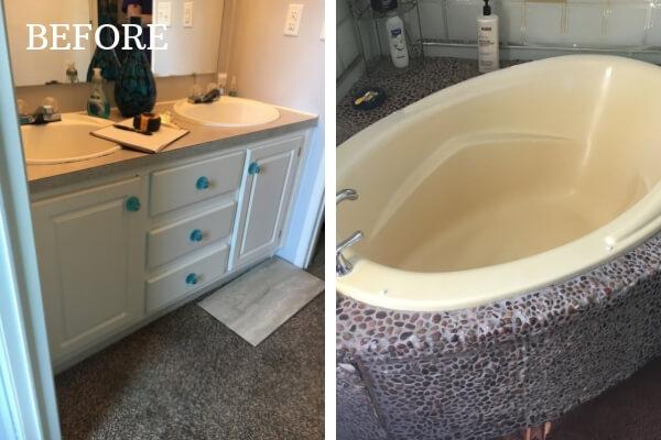 spa bathroom remodel after