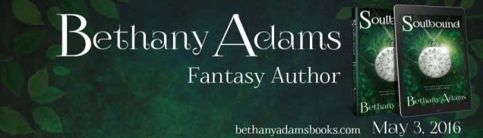 Soulbound by Bethany Adams available on Amazon