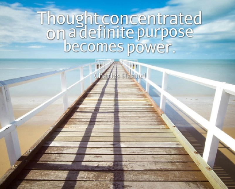 The Master Key System -22_Thought Concentrated on a definite purpose becomes power