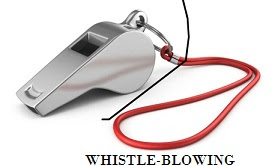 ETHICAL ISSUES IN WHISTLE-BLOWING