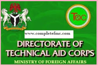 Nigerian Technical Aid Corps Recruiting Massively In October 2017