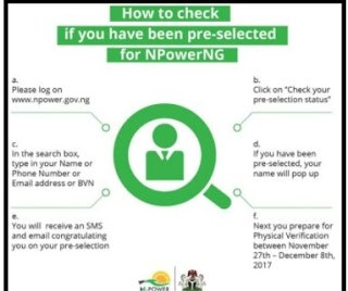 6 Vital Information: N-power December 4, 2017 Physical verification