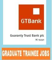 Guaranty Trust Bank (GTB) Recruits Graduate Trainees Feb. 2018