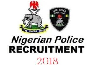 2018 Nigeria Police Recruitment Centres