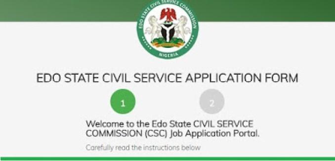 Edo State Civil Service Commission Massive  Graduate Job Recruitment June 2018 (30 Positions)