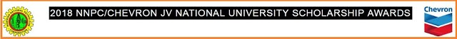 Apply for NNPC/Chevron JV 2018/2019 National University Scholarship Awards