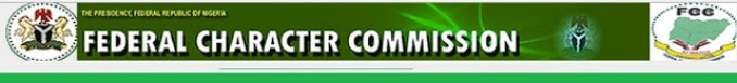 Federal Character Commission Recruitment 2018/2019/ Current Recruitment @ Federal Character Commission