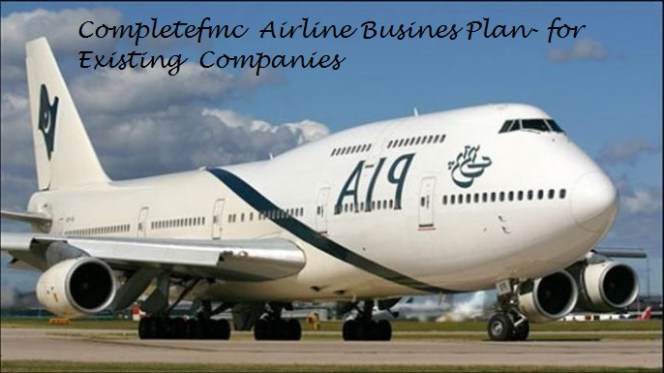 Airline Company Business Plan for Existing Company in Nigeria
