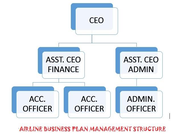 Authentic Organogram for Airline Business plan in Nigeria