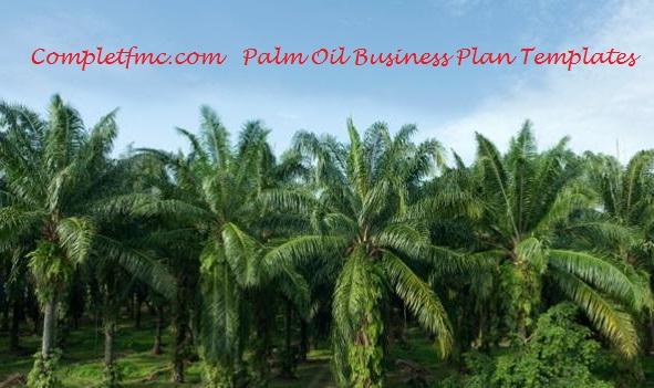 oil palm plantation business plan pdf
