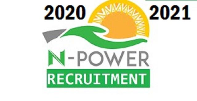 How do I apply for N-Power 2020 Recruitment?