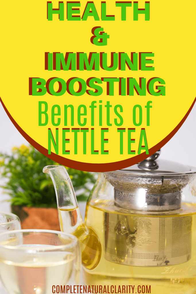Amazing Health & Immune Boosting Benefits of Nettle Tea! It's more important than ever to nurture our bodies with a healthy, strong immune system! Stinging Nettle in the form of Nettle Tea or Nettle Extract has a TON of health benefits, providing a MAJOR IMMUNE BOOST! From pain relief, to digestive health, & an astounding range of benefits I summed up in my latest blog post on this amazing natural remedy that offers SO much! Click to find out more! #nettle #alternativemedicine #immunesupport