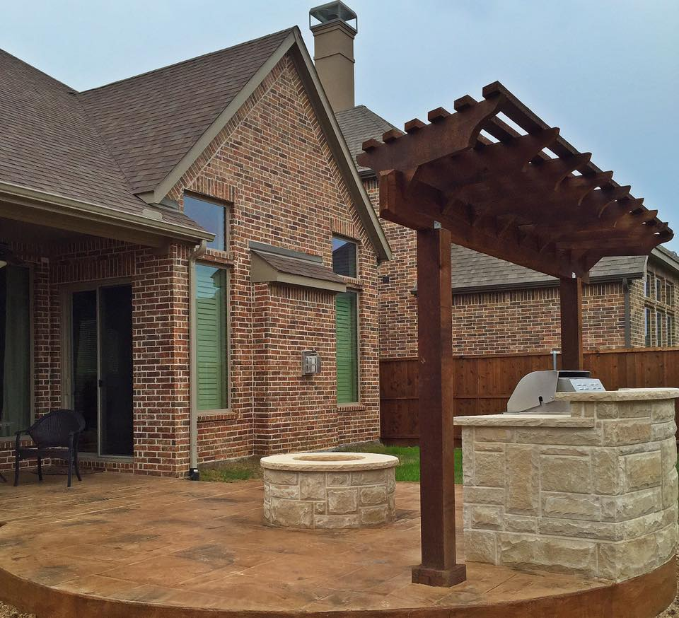 Bbq Grill Fire Pit And Patio Remodeling Contractor