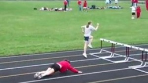 Don't be the coach of these hurdlers!