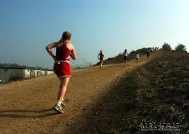 Running on an incline (hill) can build up strength in your cross country athletes