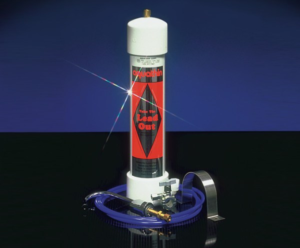 activated carbon filters to remove lead from water