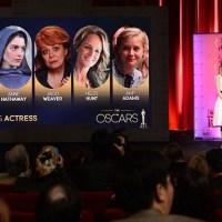 Os indicados ao Oscar 2013