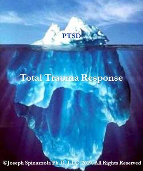 tip of iceberg of complex trauma