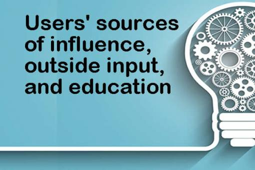 Enterprise ITAD: User influence, outside input and education