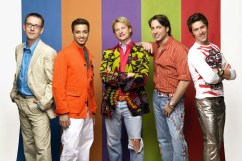 """The Fab 5 from """"Queer Eye for the Straight Guy"""""""