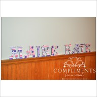hand painted letters maire kate