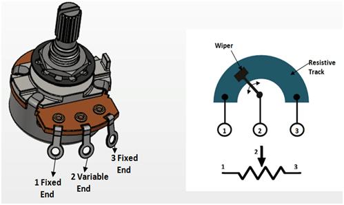 10k potentiometer pinout working  datasheet explained