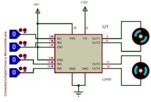 How To Use L293d Motor Driver  impremedia