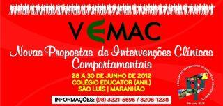 V Encontro Maranhense de Análise do Comportamento (EMAC) - São Luís/MA 5