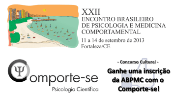 Concurso Cultural - Ganhe uma inscrição para o XXII Encontro da ABPMC em Fortaleza! 17