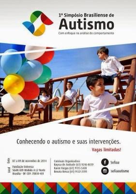I Simpósio Brasiliense de Autismo com Enfoque na Análise do Comportamento - Brasília/DF 9