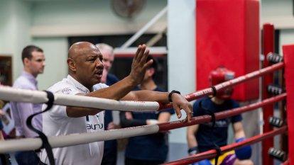 coach boxing