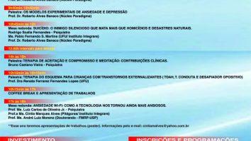 V Workshop de Terapia Cognitivo-Comportamental do Triângulo Mineiro 18