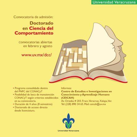 Oportunidade de Doutorado Direto em Ciências do Comportamento no México 3