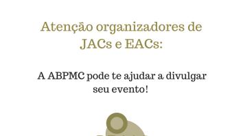 ABPMC ajuda a divulgar o seu evento em Análise do Comportamento 15