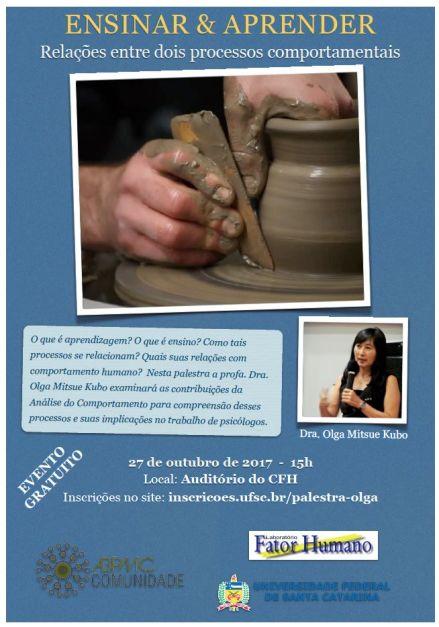 Palestra: Ensinar e Aprender com a Dra. Olga Kubo 1