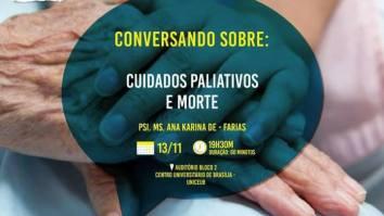 """Palestra ABPMC Comunidade: """"Cuidados paliativos e morte"""" 16"""