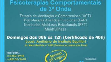 Curso deFormação Inicial em Psicoterapias Comportamentais de 3ª Onda 21