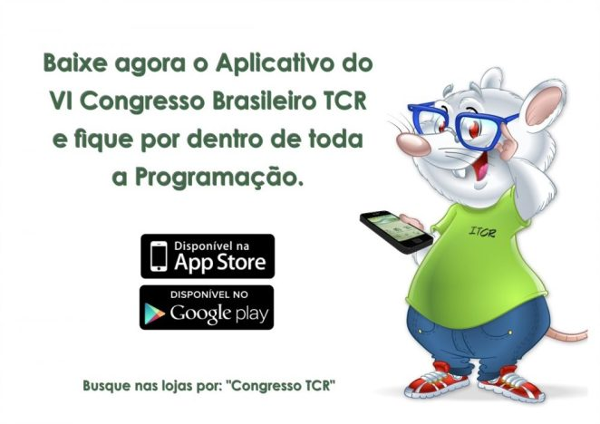O VI Congresso Brasileiro TCR é nesta Quinta-feira!!! 5
