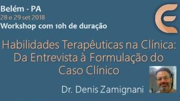 Curso: Habilidades Terapêuticas na Clínica: Da entrevista à formulação de caso clínico com Dr. Denis Zamignani 3