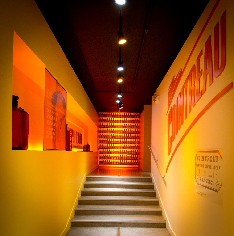 Inside the Cointreau building