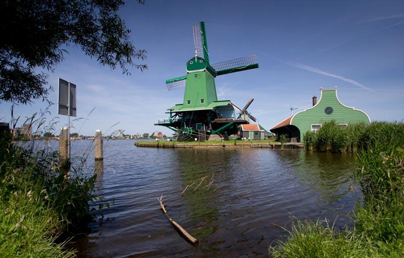 Windmill at Zaanse Schans